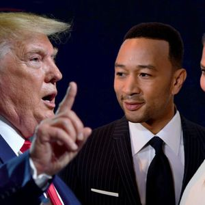 After hate-watching MSNBC prison reform special, Donald Trump attacks Chrissy Teigen and John Legend