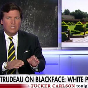 "Tucker Carlson defends Megyn Kelly's blackface scandal, calls Justin Trudeau ""racist"""