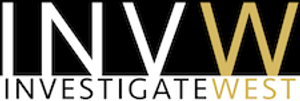 InvestigateWest logo; logo