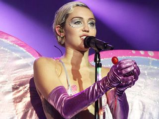 I am Miley's mother  I am her lover  I am her critic  I am a mixed
