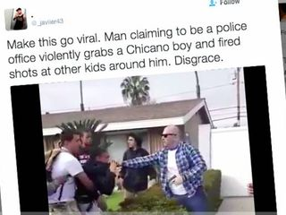 24 arrested in Anaheim protests after an off-duty cop shoots