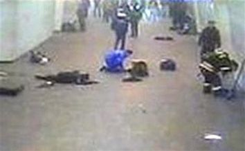 CORRECTION Russia Subway Blast