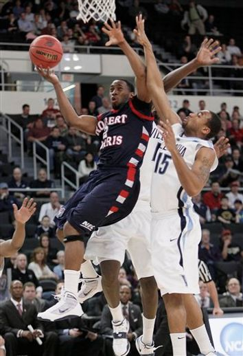 NCAA Robert Morris Villanova Basketball