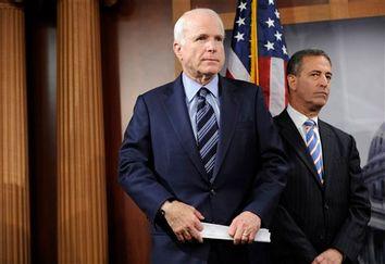 John McCain, Russ Feingold