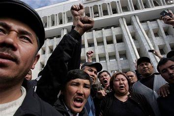 Kyrgyzstan Protest
