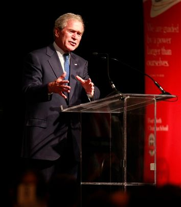 Bush School Speech