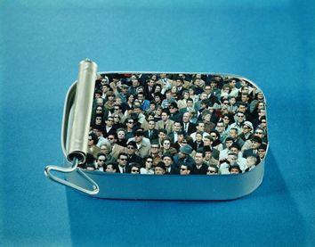 Packed like sardines