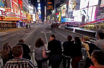 Times Square Car Smoke