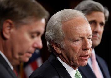 Joseph Lieberman, John Kerry, Lindsey Graham