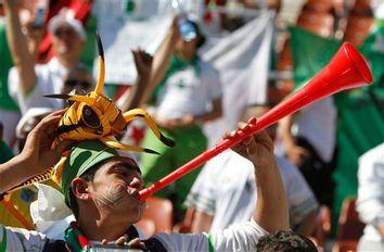 South Africa Soccer WCup Algeria Slovenia