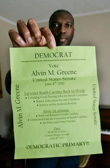 Alvin M. Greene