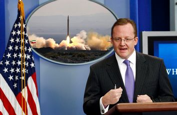 White House Press Secretary Robert Gibbs responds to a question about leaked documents during a briefing at the White House in Washington