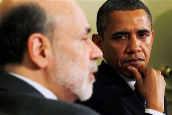 Barack Obama, Ben Bernanke