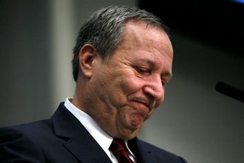 Lawrence Summers, director of the White House National Economic Council, during an event at the Brookings Institute in Washington