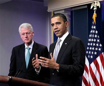 Barack Obama, Bill Clinton