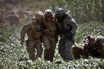 APTOPIX Afghanistan Medevac Unit