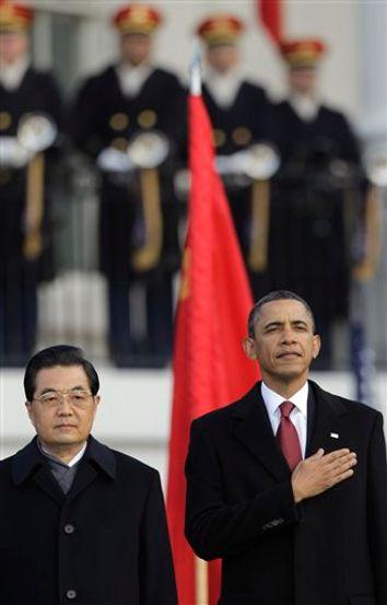 Barack Obama, Hu Jintao
