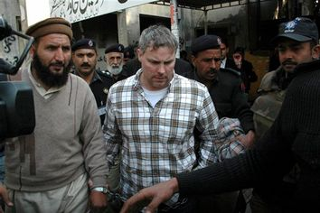 APTOPIX Pakistan Detained American