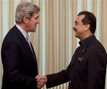 John Kerry, Yousaf Raza Gilani