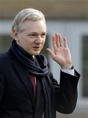 Britain WikiLeaks Assange