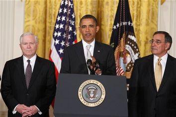 Barack Obama, Robert Gates, Leon Panetta