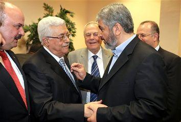 Mahmoud Abbas, Khaled Mashaal