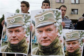 APTOPIX Bosnia Ratko Mladic Hometown Reax