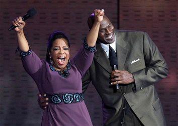 Oprah Winfrey, Michael Jordan