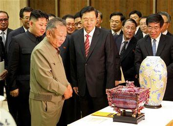 Kim Jong Il, Zhang Dejiang, Kim Jong Un
