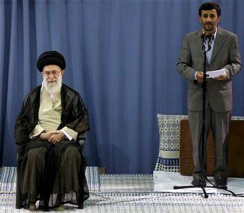 Ali Khamenei, Mahmoud Ahmadinejad