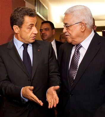 Nicolas Sarkozy; Mahmoud Abbas
