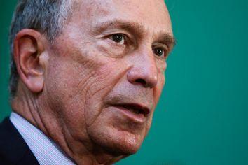 New York City Mayor Bloomberg