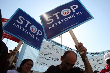 Keystone pipeline politics