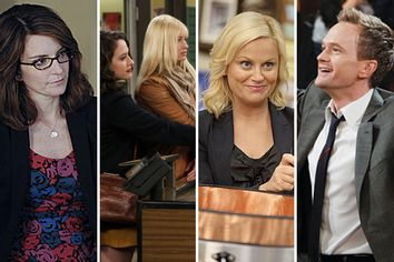 30 Rock, Two Broke Girls, Parks and Rec, How I Met Your Mother