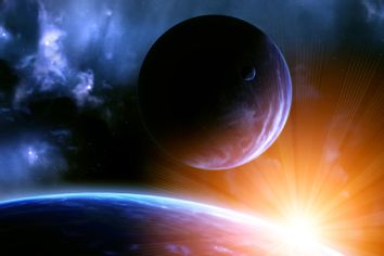 Excerpt from The Life of Super Earths about really big planets that could have life on them
