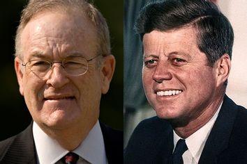 Bill O'Reilly and President John F. Kennedy