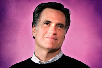 Republican presidential candidate former Massachusetts Governor Mitt Romney