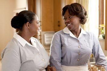 Octavia Spencer and Viola Davis in