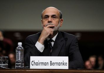 U.S. Federal Reserve Chairman Bernanke is pictured before testifying at a Joint Economic Committee hearing on the economic outlook in Washington