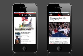 Salon's iPhone App