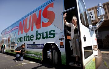 Nuns Bus Tour