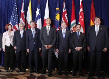 Barack Obama, Naoto Kan, Nguyen Minh Triet, Julia Gillard, Sebastian Pinera, Lee Hsien Loong, John Key, Hassanal Bolkiah, Alan Garcia, Muhyiddin Yassin