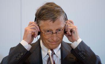 Entwicklungsminister Niebel trifft Bill Gates