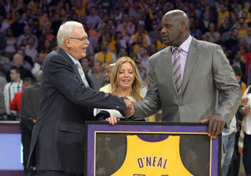 Shaquille O'Neal, Phil Jackson, Jeanie Buss