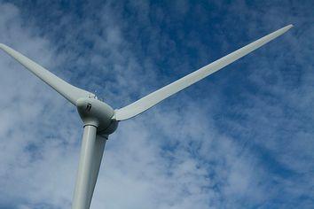 Wind turbines of Linden