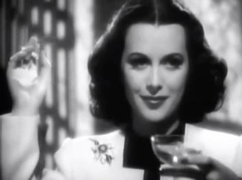 Hedy Lamar screen shot from Algiers Public Domain