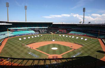 Australia Baseball Dodgers Diamondbacks