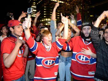 Bruins Canadiens Montreal Reax Hockey