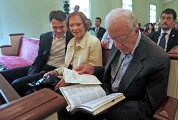 Jason Carter, Roselyn Carter, Jimmy Carter
