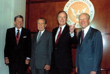 Reagan Nixon Bush Ford